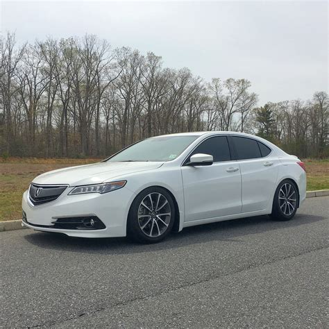 Honda Acura Tlx by Closed D2 Coilovers 2015 Acura Tlx 2013 Honda Accord
