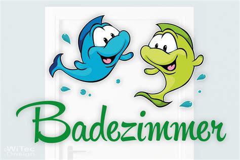 Aufkleber Bad by Badezimmer Comic Badezimmer