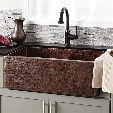 cooper kitchen sink luxury kitchen copper sinks trails 2574