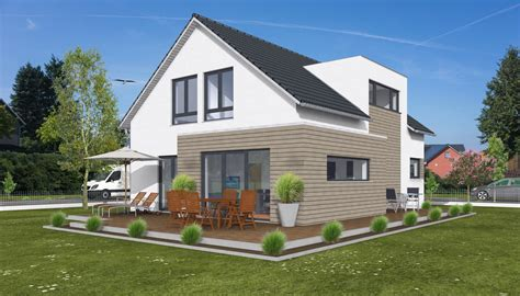 Moderne Häuser Mit Gauben by Hauskonzept Stadthaus Mit Erker Und Gaube Petershaus