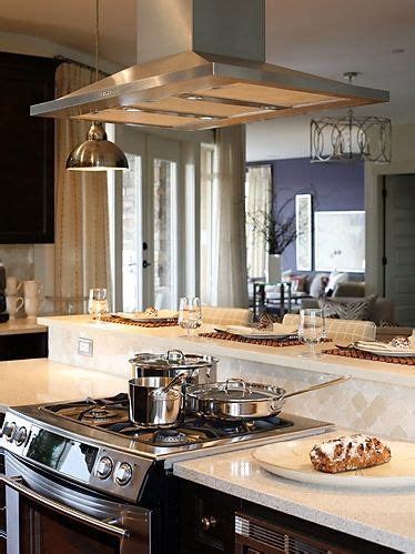 stove in island kitchens 17 best images about range hoods an island on