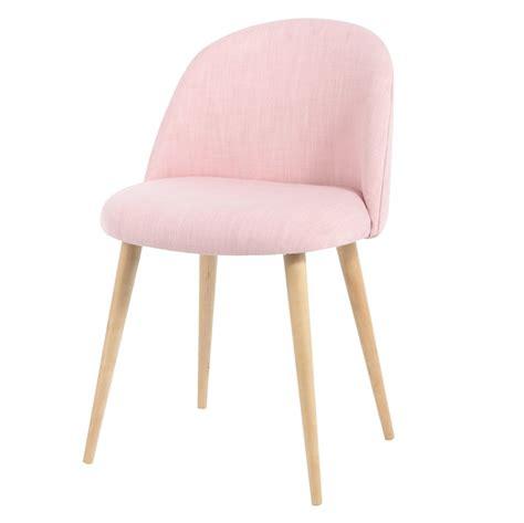 chaises retro chaise vintage en tissu mauricette maisons du monde