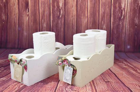 shabby chic bathroom accessories uk shabby chic wooden toiletries toilet paper rack holder bathroom accessories ebay