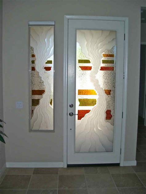 glass entry doors triptic entry sidelite glass door inserts sans soucie