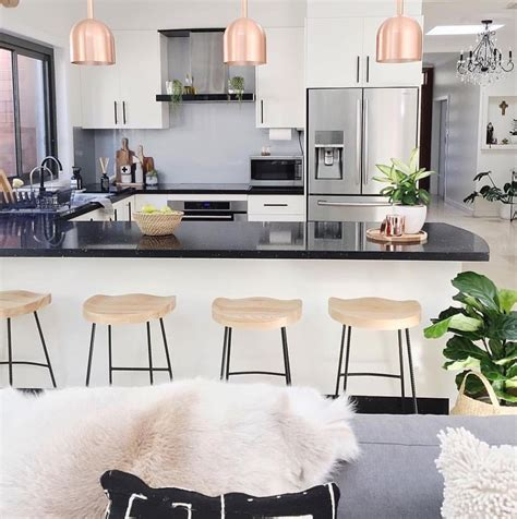 White Kitchen Rose Gold Kitchen Design And Ideas Prince