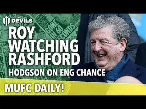 Scott tulloch, who runs wythenshawe foodbank, says rashford's campaigning has led to changes in both those giving to and getting support from the service. Roy Hodgson's Marcus Rashford Quotes | MUFC Daily ...