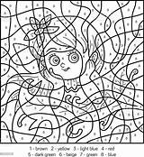 Number Fairy Butterfly Coloring Insect Illlustration Technique Child Characters sketch template