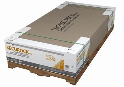 Gypsum Board Roof Usg Fiber Securock Boral