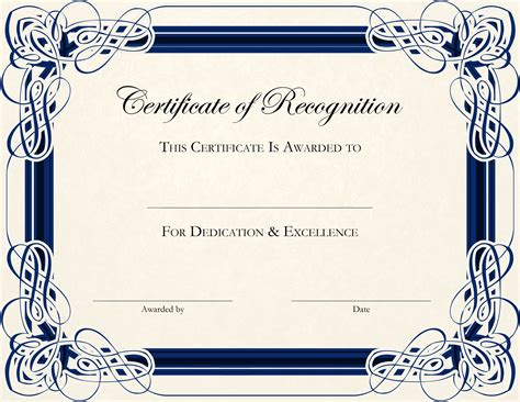 certificate design templates printable calendar