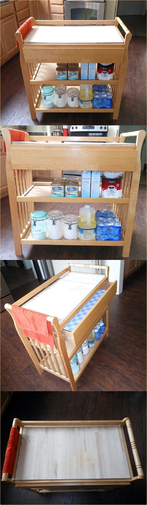 need more kitchen storage 17 best images about changing table upcycle on 3468