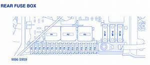 Range Rover 4000 V 8 2004 Fuse Box  Block Circuit Breaker Diagram