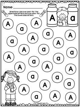 bingo dauber printables alphabet    teachers pay