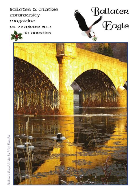 Ballater & Crathie Eagle Issue 72 Winter 2013 by Faye