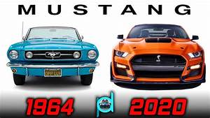 The EVOLUTION of The FORD MUSTANG - The Best American Muscle Car! - YouTube