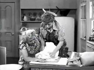 I Love Lucy Too Much Yeast! - YouTube