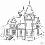 Coloring Pages Victorian Printable Drawing Paper Crafts Puzzle sketch template