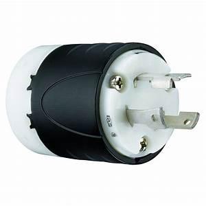 Legrand Pass And Seymour 30 Amp 250-volt Locking Plug-l630pccv3