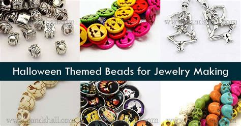 Online Jewelry Making Newsletter Halloween Themed Beads