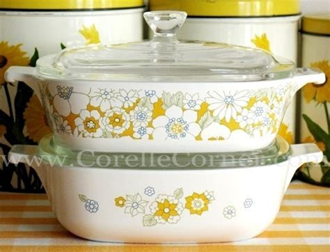 """""""My"""" Corelle pattern  Floral Bouquet from the late 60's"""