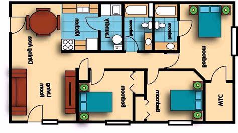 3 Bedroom 2 Bath 1400 Sq Ft House PlansMaker