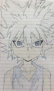 Drawing: Killua Zoldyck in Godspeed | Anime Amino
