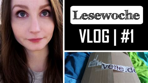 [lesewoche] #1  Vlog  Neues Format, Currently Reading