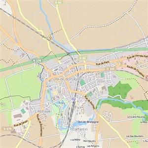 Garage Dol De Bretagne : plan dol de bretagne carte ville dol de bretagne ~ Gottalentnigeria.com Avis de Voitures