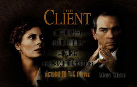 The Client (1994)  Dvd Movie Menus