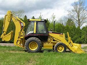 Caterpillar 416b Backhoe Loader Official Workshop Service