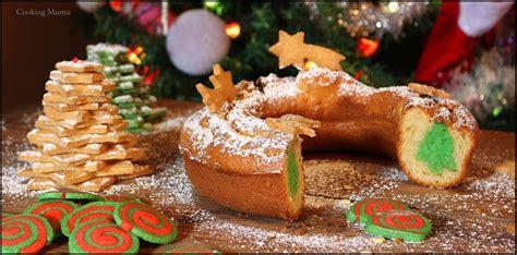 cake surprise sapin de noel cooking mumu