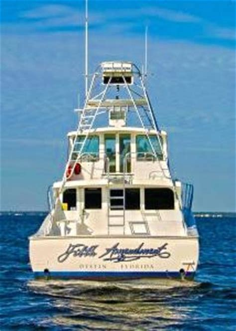 Back Of A Boat by Our Fifth Amendment Destin Fishing Charter Picture Of