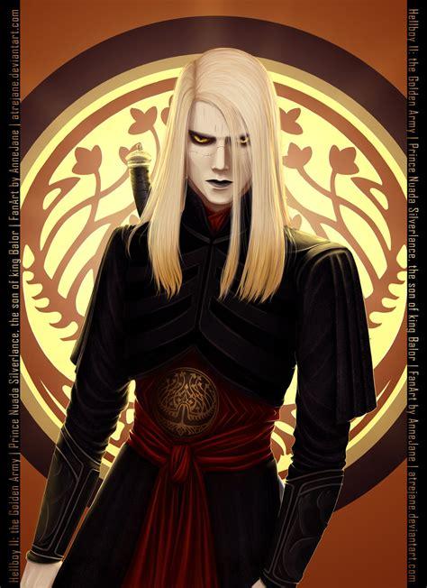 prince nuada  hellboy ii  atrejane  deviantart