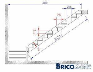 calcul escalier quart tournant With ordinary faire un plan maison 8 calculer un escalier droit
