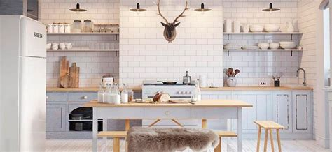 hygge kitchens scandinavian style trend ideas