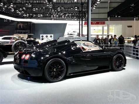 Bugatti Veyron Grand Sport Vitesse Black Bess Side