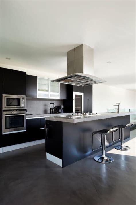 modern kitchen cabinets black 52 kitchens with wood and black kitchen cabinets Modern Kitchen Cabinets Black