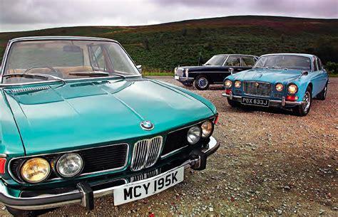 Bmw 2500 E3 Vs Mercedes-benz 250 W114 And Jaguar Xj6 2.8