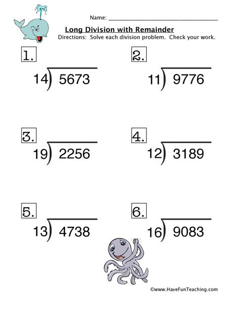 math worksheet division with remainders math division worksheets resources