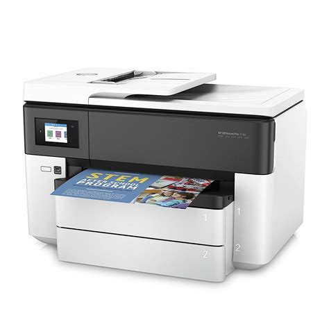 If you use hp officejet pro 7720 printer series, then you can install a compatible driver on your pc before using the printer. HP OfficeJet Pro 7730 Driver Download | Avaller.com