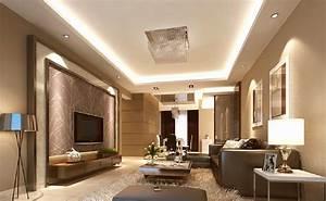 Interior design in modern minimalist style