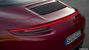 2018 Porsche 911 Targa 4 GTS Tail Light HD Wallpaper 43