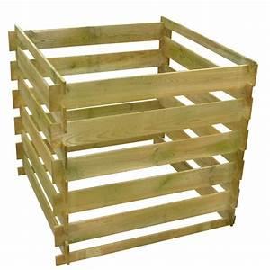 Composteur Pas Cher : houten compostbak 0 54 m3 vierkant ~ Preciouscoupons.com Idées de Décoration