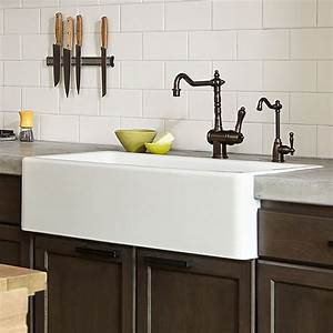 kitchen farm sink hillside 36 inch kitchen sink from dxv With 36 white farm sink