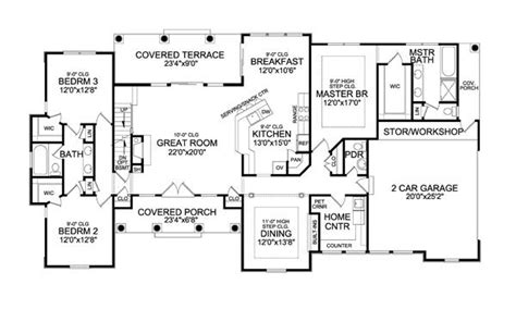 Top Photos Ideas For 2000 Sq Ft Ranch House Plans by Top 29 Ideas About House Plans 2000 2500 Sq Ft On
