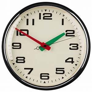 Retro, Style, Wall, Clock