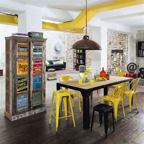 mobili  decorazioni industriali loft factory  maisons du monde