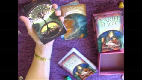 earth magic oracle cards review  pyromancercomau tarot oracle cards youtube