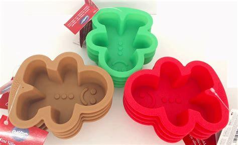 microwave gas range wsmg12pk wilton silicone 12 pack mini gingerbread boy molds