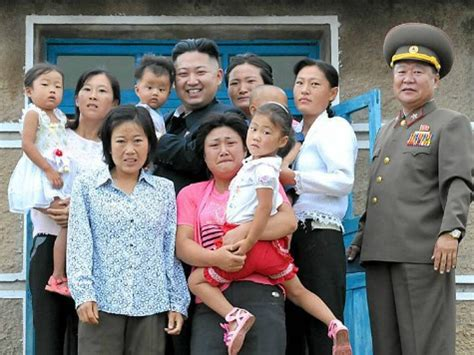 One big, happy North Korean family? Updated Not Kim's