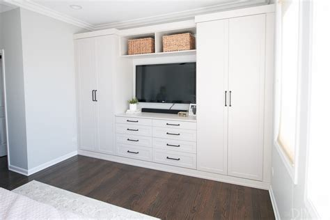 diy built in bedroom cupboards master bedroom built ins with storage the diy playbook